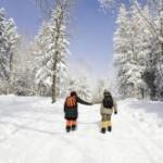 Bild Winter Wandern im Schnee