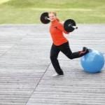 Bild Hammerwerferin beim Training